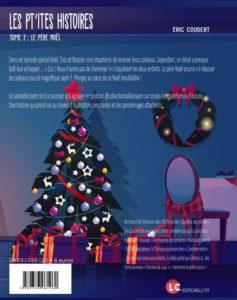 Les p'tites histoires - Tome 2, le Pères Noël (quatrième de couverture)