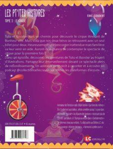 Les p'tites histoires - Tome 3, le cirque (quatrième de couverture)